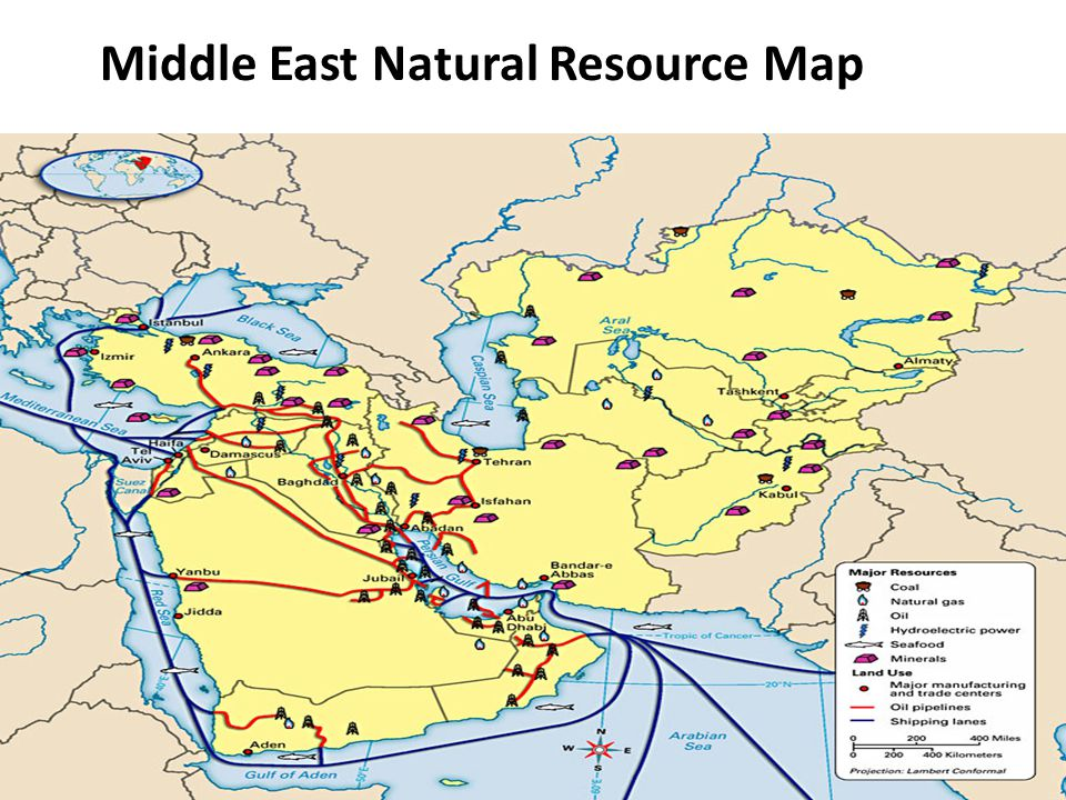 Two Most Important Natural Resources In Middle East