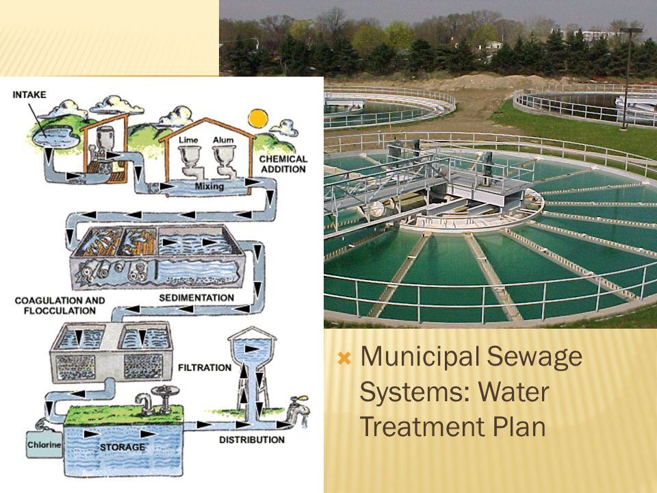Municipal Sewage Systems: Water Treatment Plan