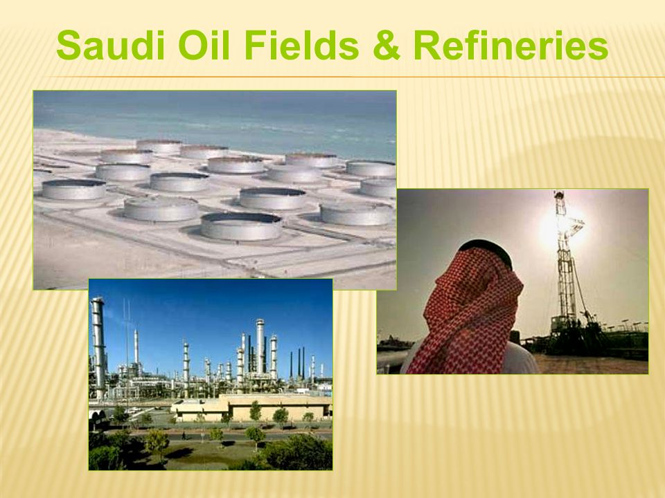 Saudi Oil Fields & Refineries