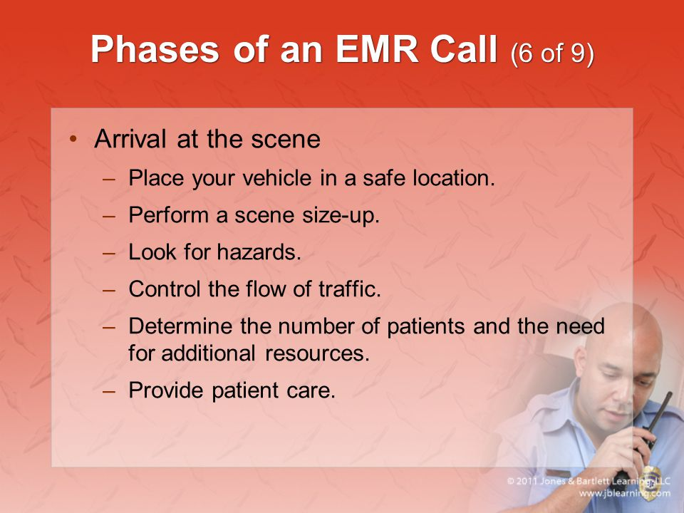 Phases of an EMR Call (6 of 9)