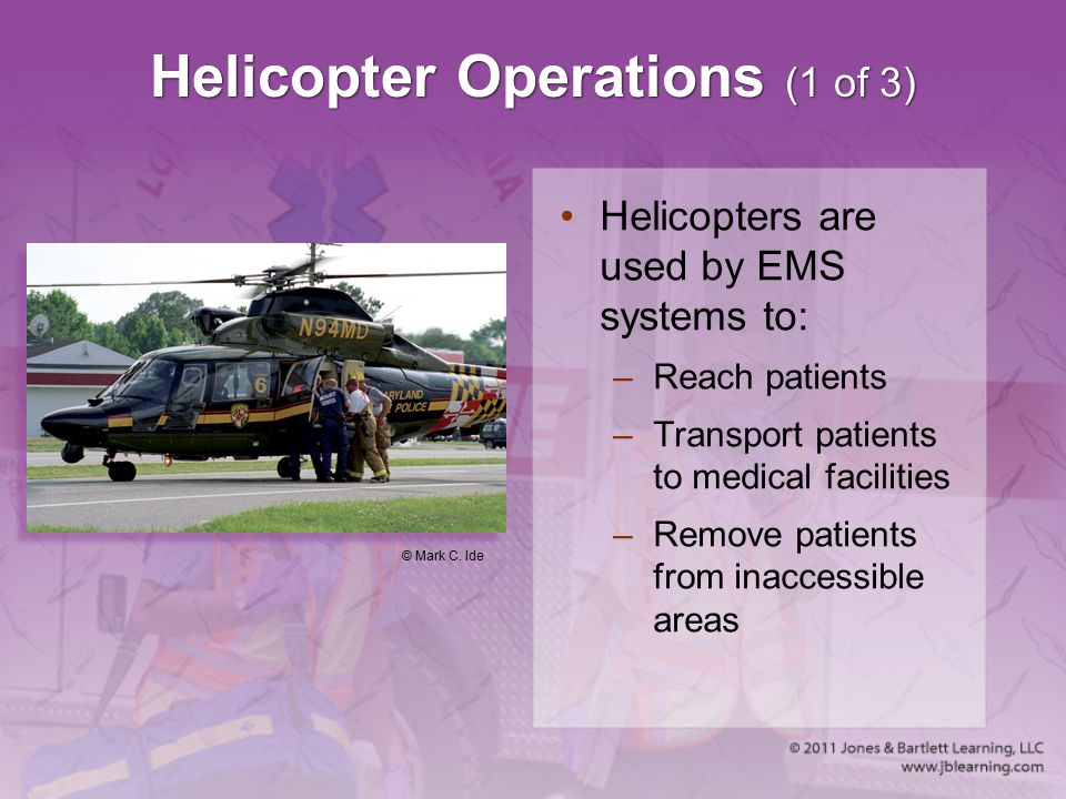 Helicopter Operations (1 of 3)