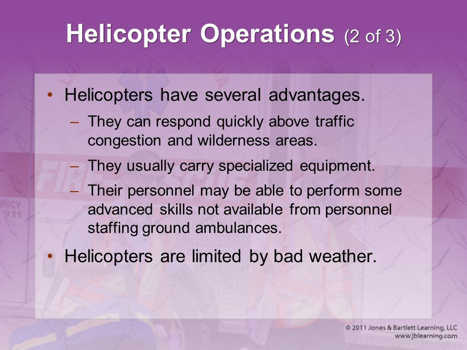 Helicopter Operations (2 of 3)