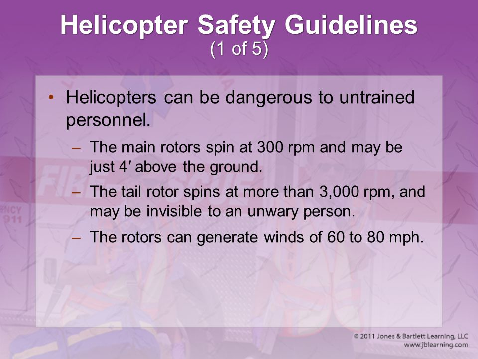 Helicopter Safety Guidelines (1 of 5)