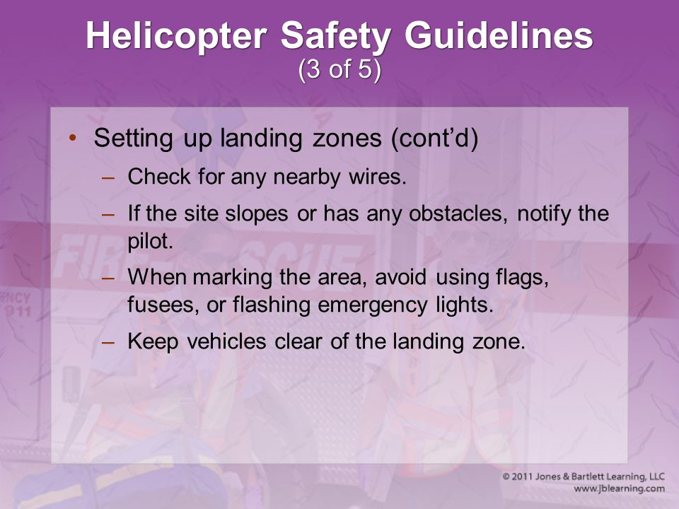 Helicopter Safety Guidelines (3 of 5)
