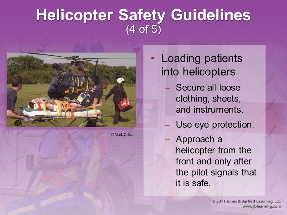 Helicopter Safety Guidelines (4 of 5)
