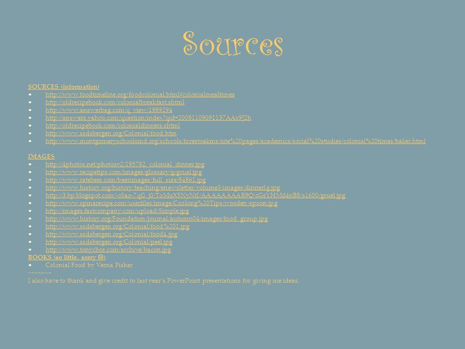 Sources SOURCES (information)