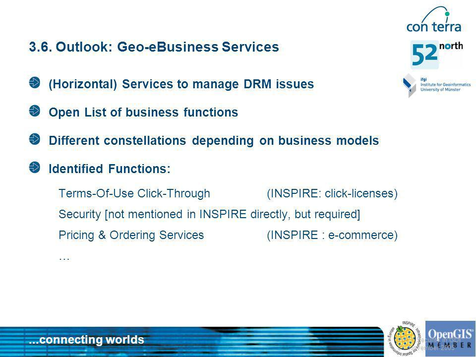 3.6. Outlook: Geo-eBusiness Services