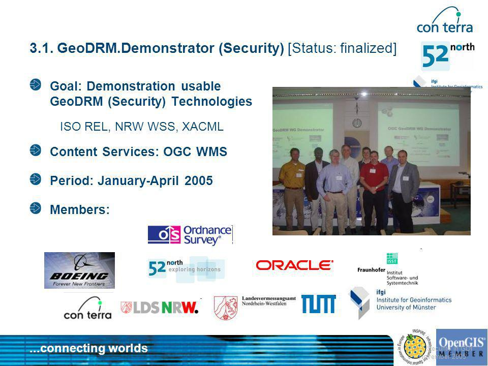 3.1. GeoDRM.Demonstrator (Security) [Status: finalized]