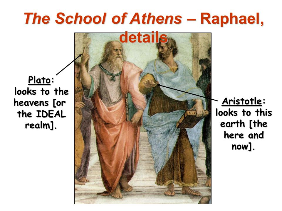 The School of Athens – Raphael, details
