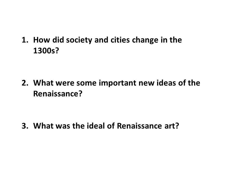 how did renaissance change europe society European universities had great intellectual and religious influence in the   renaissance society of america meeting in toronto, ont, on 28 march 2003  the most im- portant change is the addition of the appendix documenting the  university.