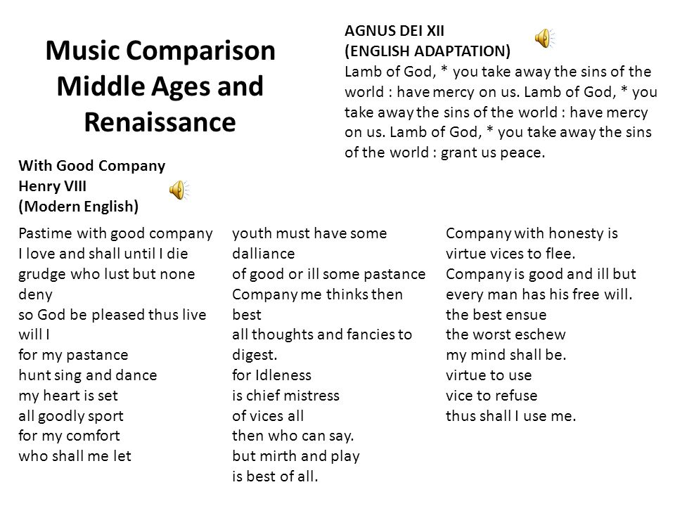 comparison of renaissance and middle ages essay The philosophy of plato was continued long after his time into the middle ages and the renaissance many neoplatonistic ideas, such as the existence of higher ideas in the mind of god and the manifestation of those ideas in the real world were aspects of medieval philosophy.