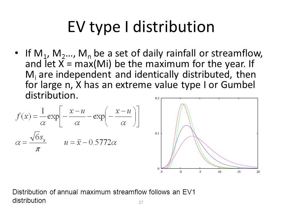 gumbel extreme value distribution pdf