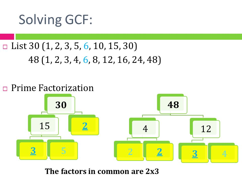 how to find the gcf of repeating numbers