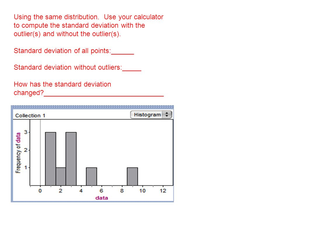 How To Calculate Mean, Standard Deviation, And Standard Error 12 Using The  Same Distribution