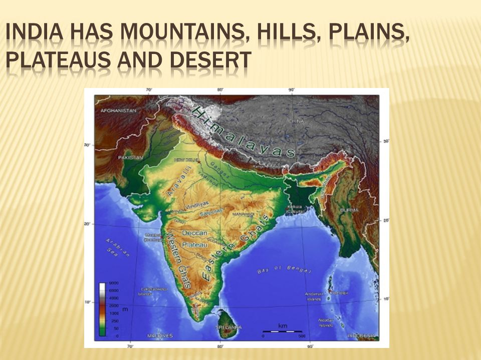 landforms of india India is situated entirely on the indian plate, a major tectonic plate that was formed when it split off from the ancient continent gondwanaland (ancient landmass.