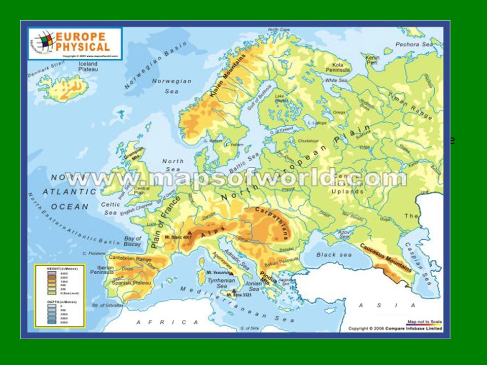 Southern Italy Spain Portugal Vatican City San Marino Greece - Portugal map physical