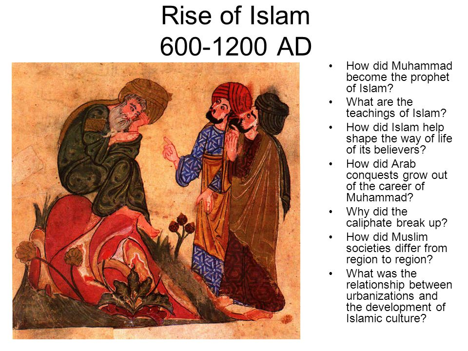 muhammad and the rise of islam Muhammad, prophet and statesman — by diana  before beginning his rise, muhammad left the  as much of arabia as possible under the control of islam muhammad.