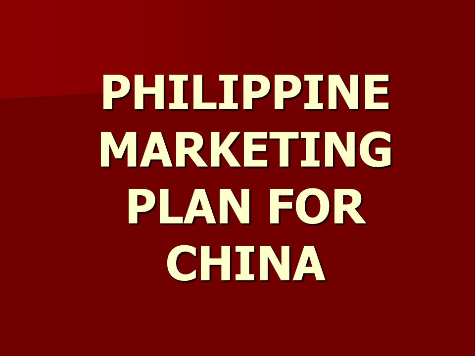 philippine airlines marketing plan Profile of the philippine market  the long-term plan is for the smart card to also be used for all modes of public transport similar to  philippine airlines.