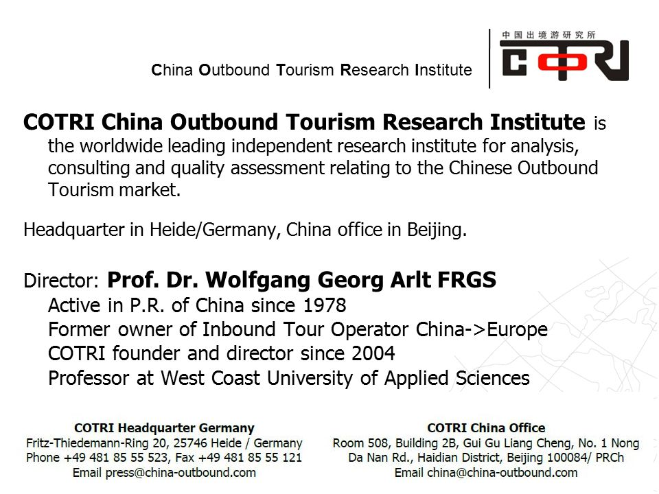 tour to china germany