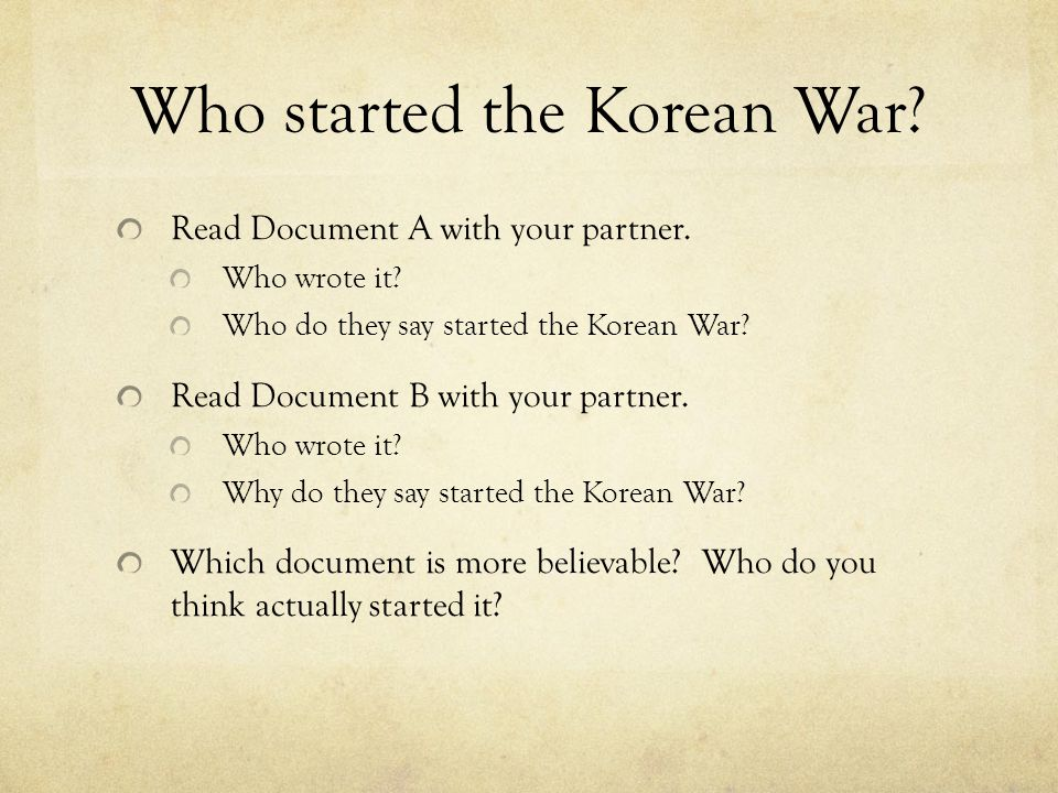 10 Facts About the Korean War
