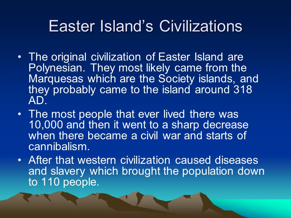 Easter Island's Civilizations