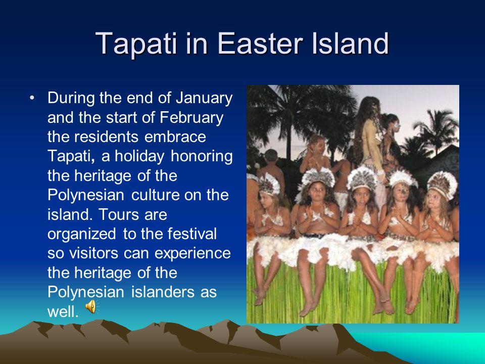 Tapati in Easter Island