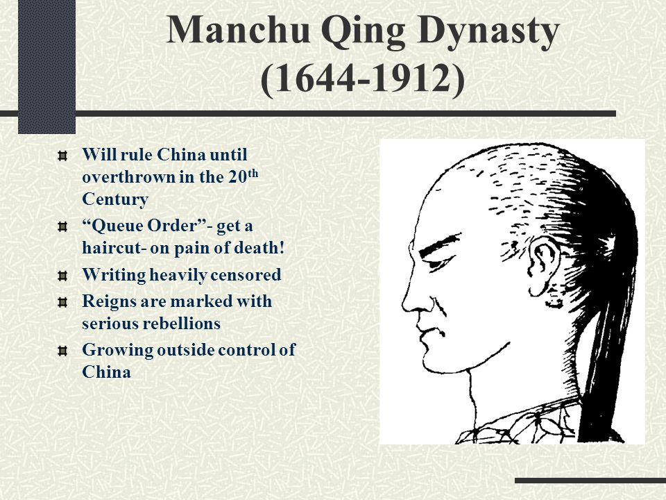Fall of Qing Dynasty Essay