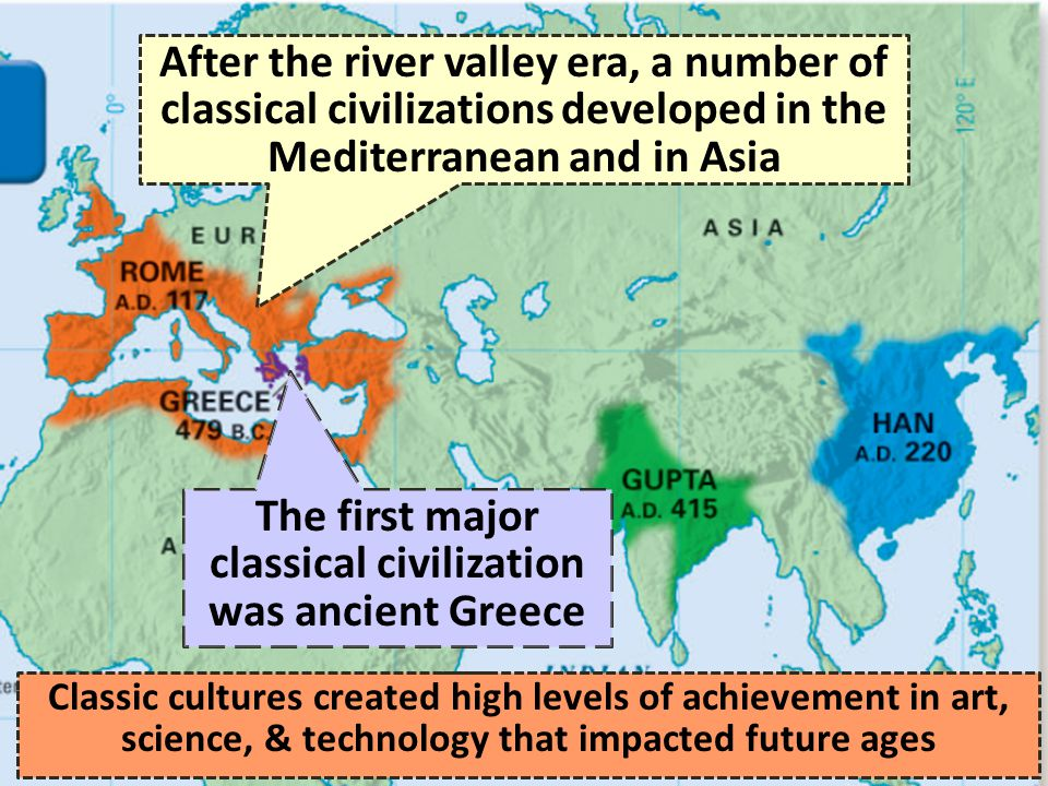 History of Western civilization before AD 500