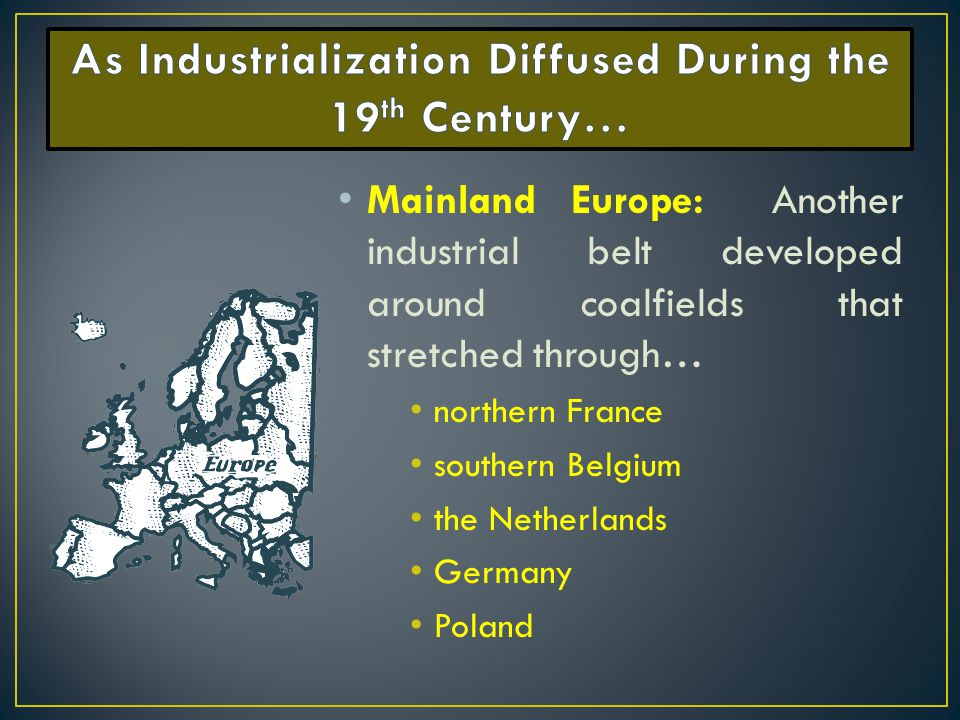 The consequences of industrialization in european countries during the 18th and 19th century