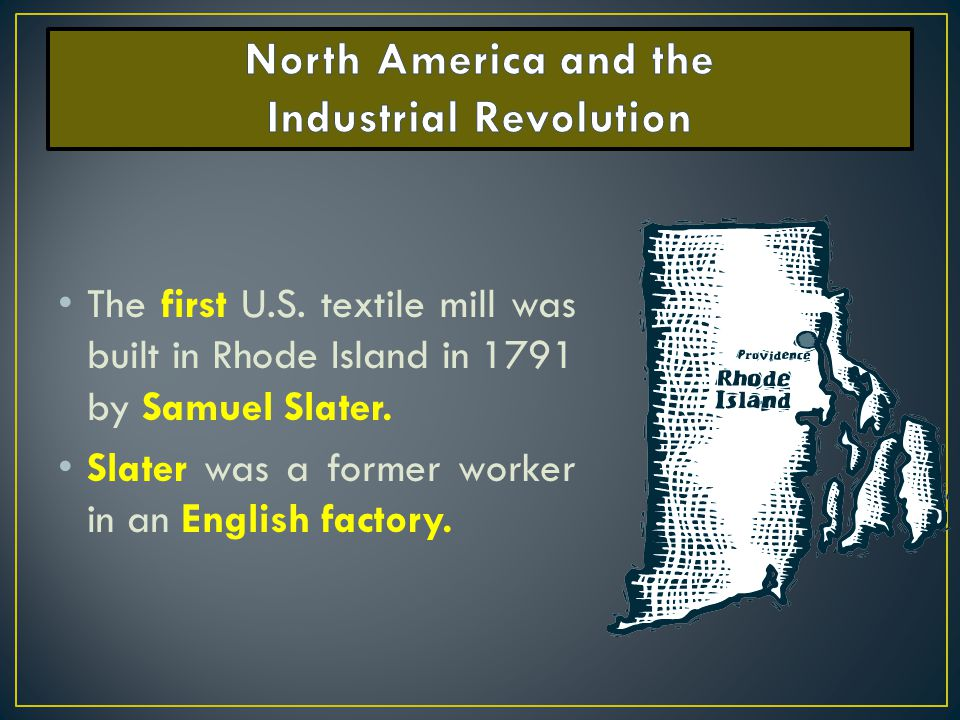 the effects of the industrial revolution in north america The industrial revolution was the major technological these effects spread throughout western europe and north america.