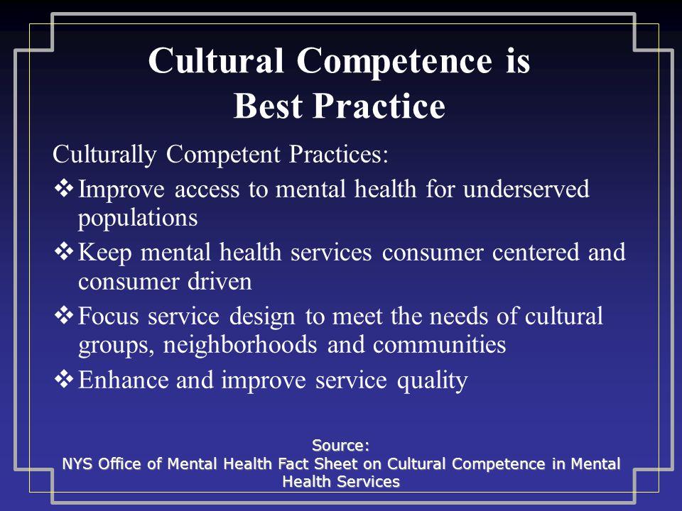 cultural competencies