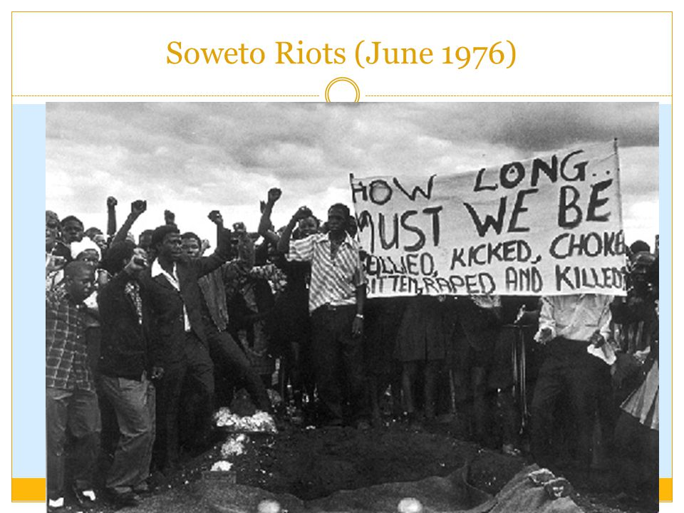 Soweto Riots (June 1976)