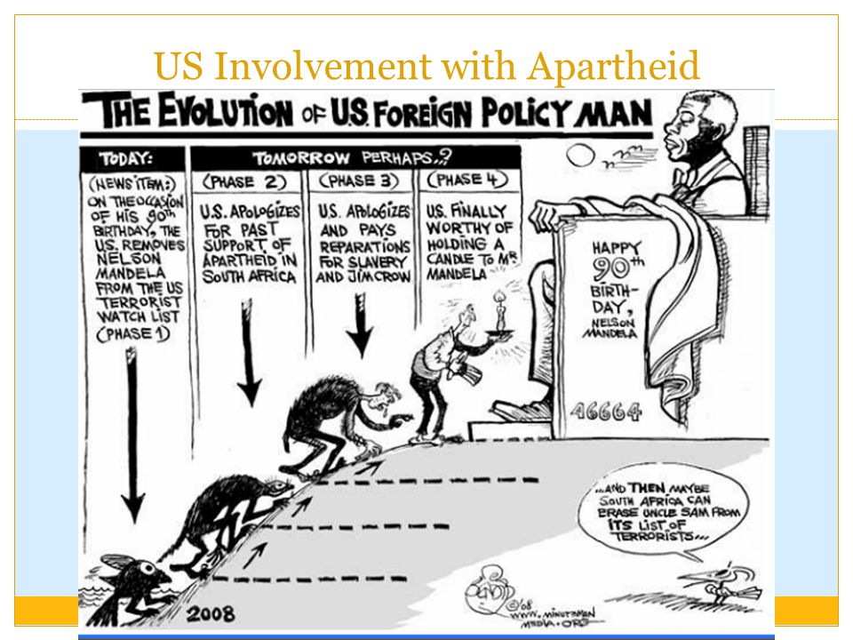 US Involvement with Apartheid
