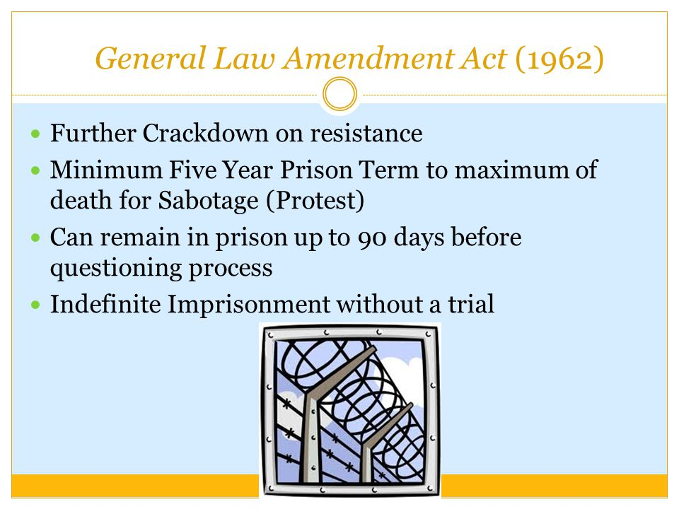 General Law Amendment Act (1962)