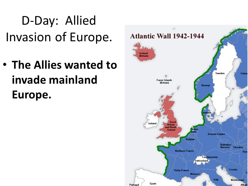 D-Day: Allied Invasion of Europe.