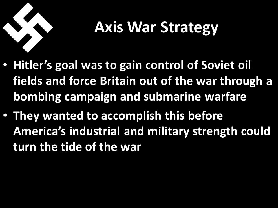 Axis War Strategy