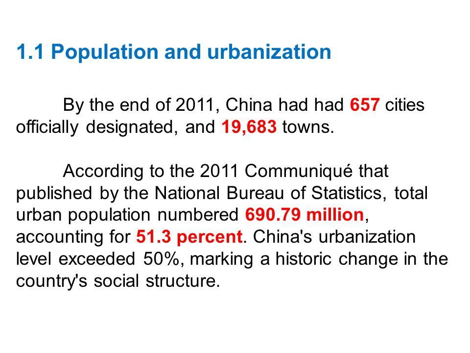 urbanization and overpopulation Rapid population growth and urbanization will have a dramatic effect on the  increased demand for jobs, housing, energy, clean water, food, transportation.