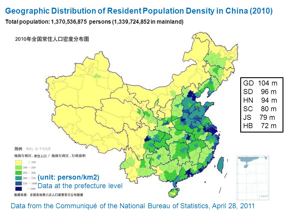 geography of china and its population Geography stretching 3,100 miles its territory includes mountains with a population of 13 billion, china has more people than any other country on earth.