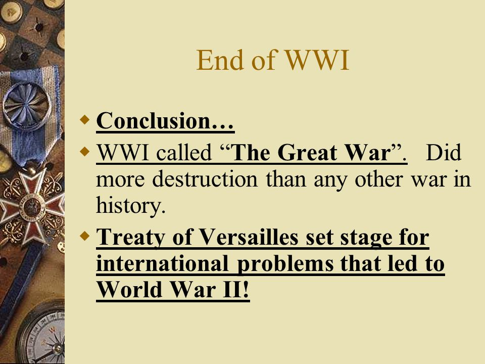what led to the defeat of the treaty of versailles The treaty of versailles led to the ww ii for the following reasons: handing over of alsace-lorraine to france: this region was vastly rich in coal and iron reserves, both needed to run the german economy and build war machinery.