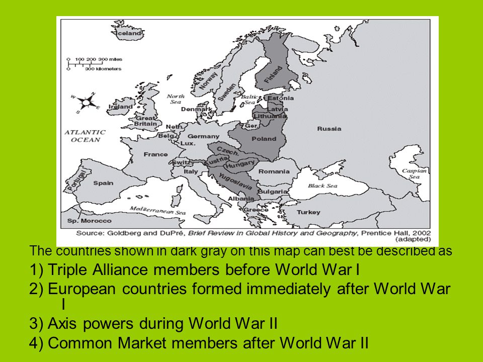 The World Wars Ppt Download - Europe map after world war1