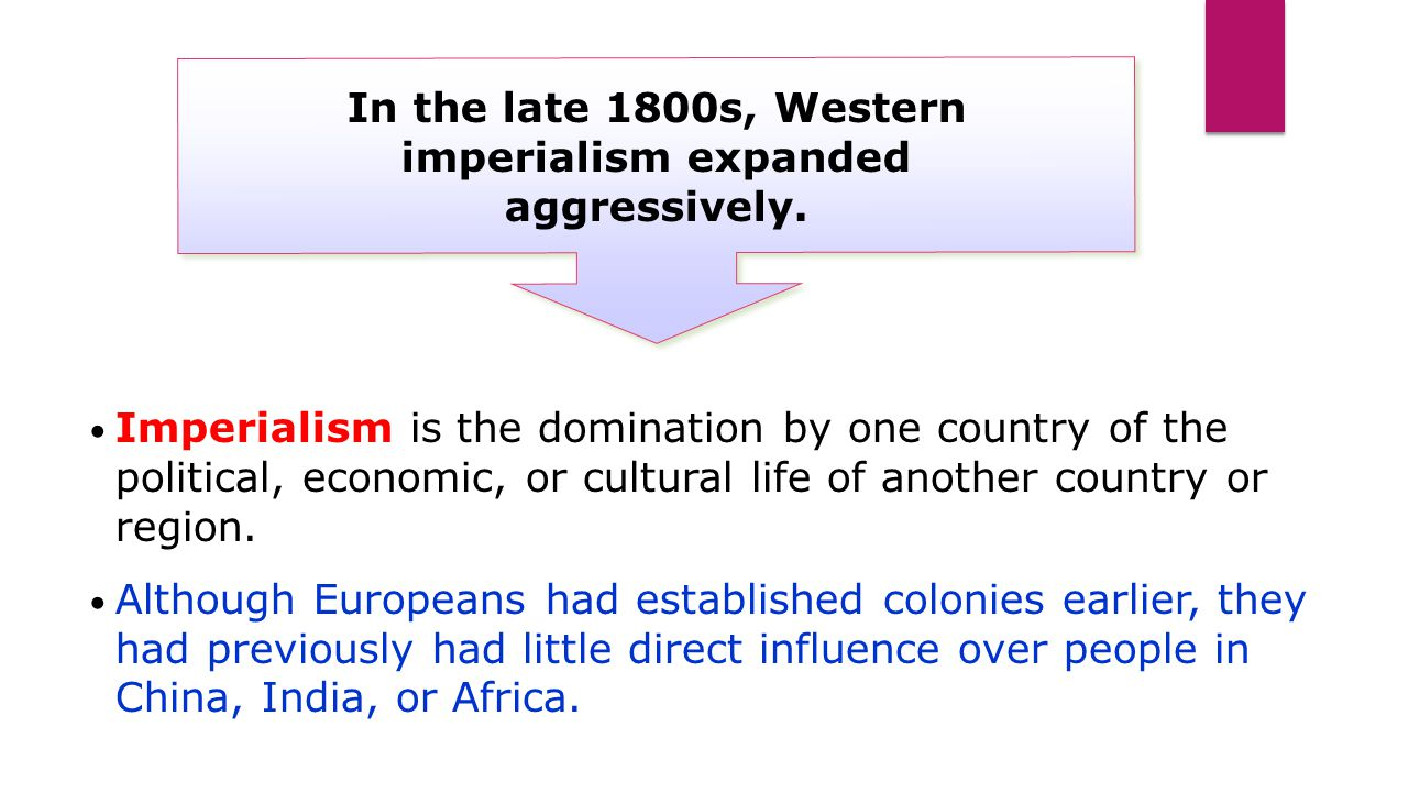how western imperialism affects china and View map of imperialism in china expansion and imperialism: japanese imperialism differed from western imperialism in that it was the first non-western imperial power, and that it rose to imperial status after facing colonization by the west.
