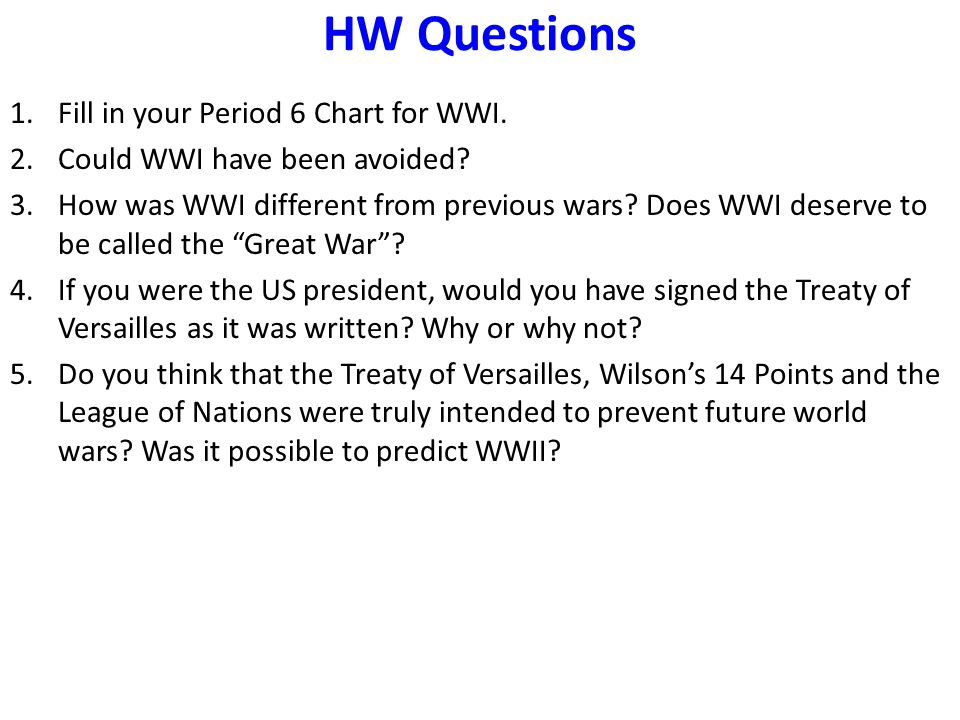 could the wwi be avoided Could wwi have been avoided if the archduke had not been assassinated and if the first world war had been avoided, might the.