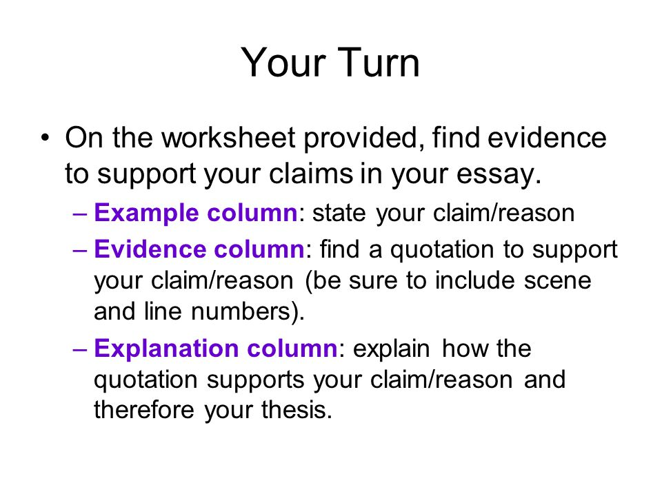 explanation essay topics