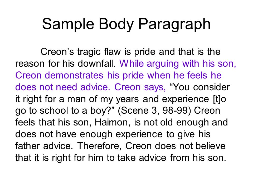 creons tragic downfall essay The tragic flaw of creon in antigone  his downfall arrives from trying to be just and right by enforcing the law  antigone essay writing help.