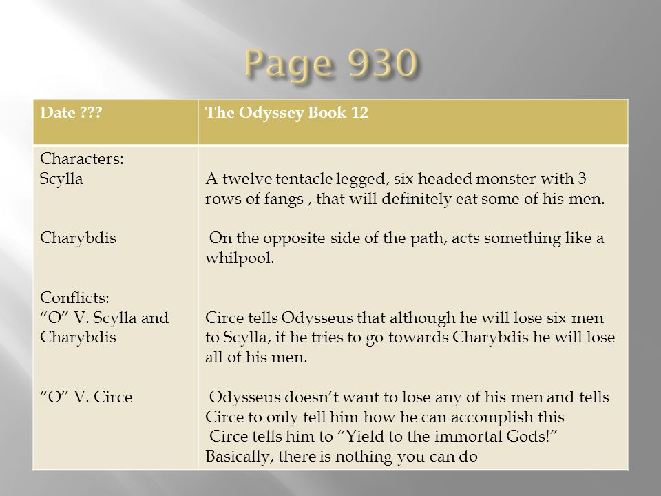 the odyssey book 12 pdf