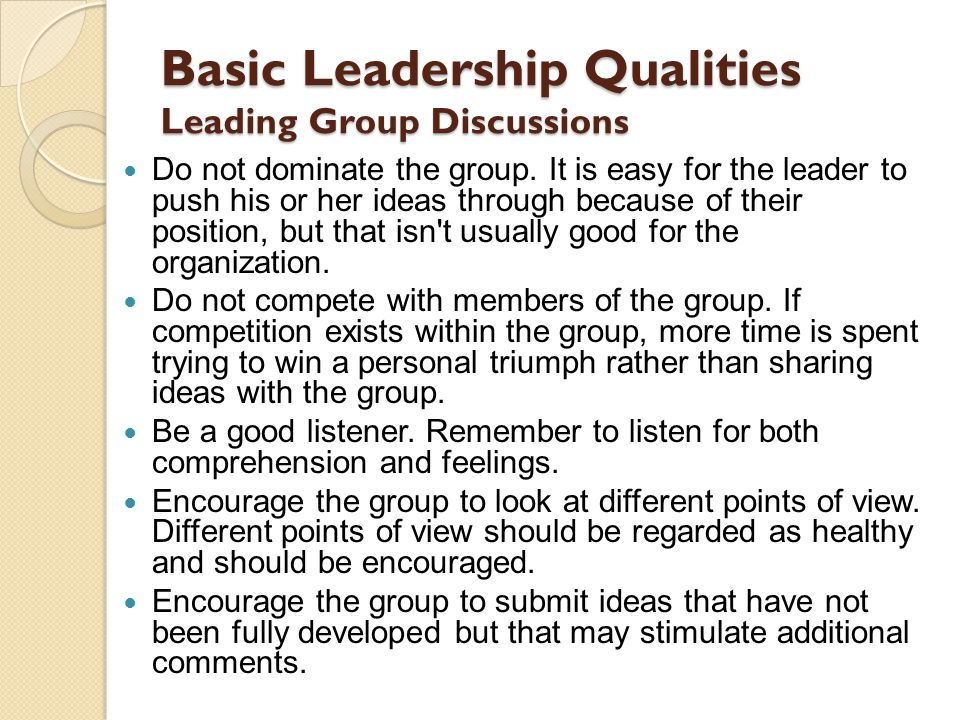 What Group Leadership Skills Are Essential?