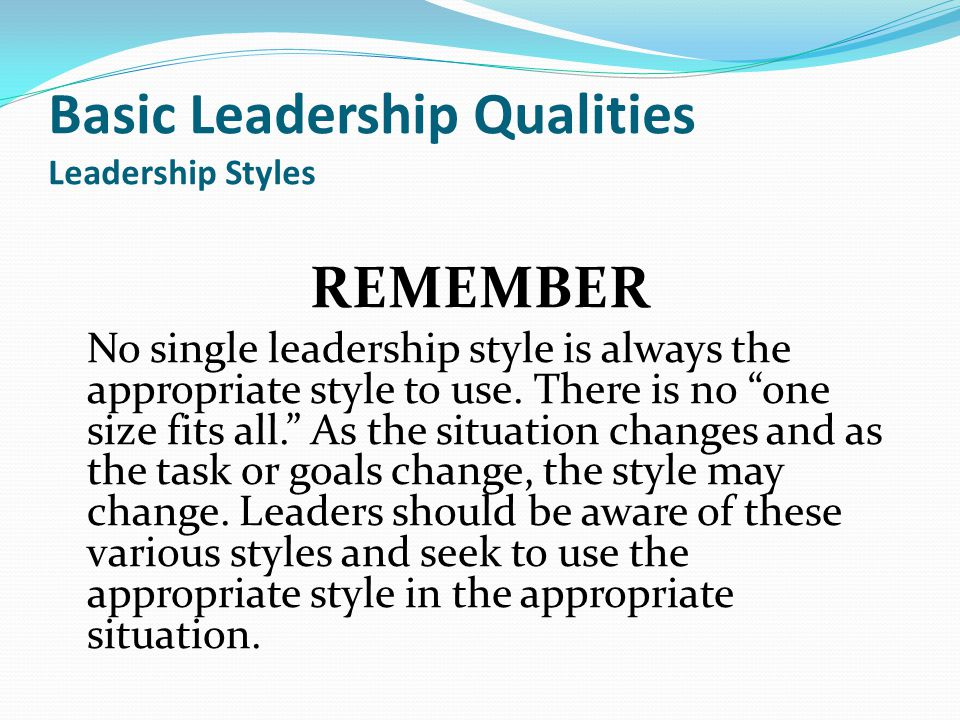 styles and attributes needed for leadership What is innovative leadership by:  what are their qualities and how do they drive  an innovative leader does not even need to be the person who creates .