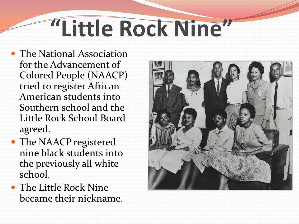 student essays on the little rock nine Read this essay on little rock nine come browse our large digital warehouse of free sample essays get the knowledge you need in order to pass your classes and more.