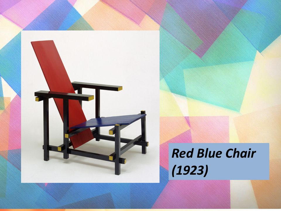 Red Blue Chair (1923)