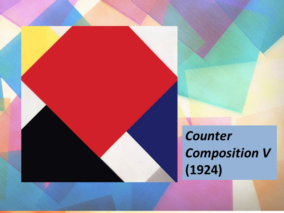 Counter Composition V (1924)